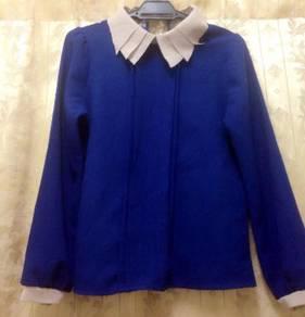 Royak blue blouse