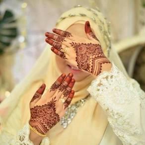 Inai pengantin ke rumah anda (kuala lumpur)