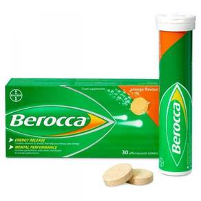 Ready stock Berocca Energy Vitamin c calcium solub