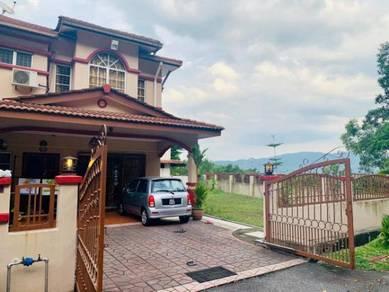3300sf [Corner Unit] 2 Storey Terrace House Rawang Perdana 2 Rawang
