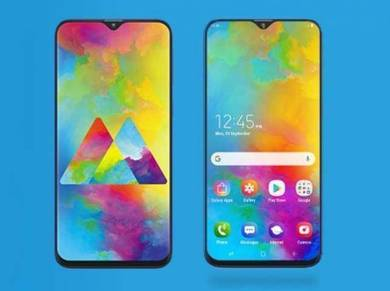 SAMSUNG Galaxy M20 (4/64GB | 5000 BATTERI)MYSet