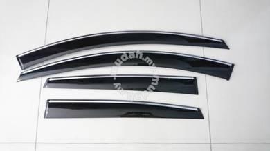 Volkswagen touran tiguan chrome lining door visor