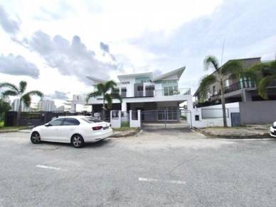 (PRIME LOCATION)(NICE UNIT) 2 Sty Semi D Nong Chik Heights, JB