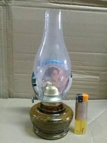 119 Pelita antik 1970's antique oil lamp NOS