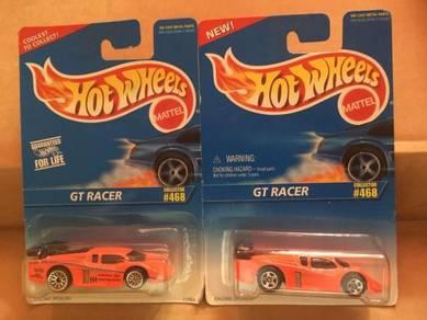 Hotwheels GT Racer Set of 2