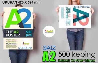 Kami Print Poster Saiz A2 - 500 Keping