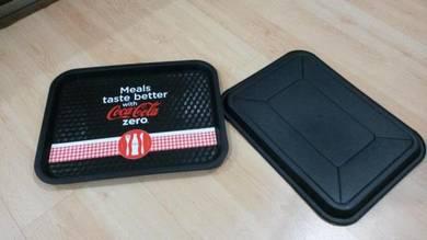 Plastic coke serving tray