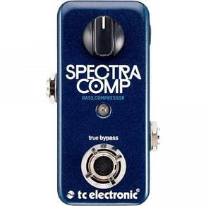 TC Electronic SpectraComp Bass Effects Pedal