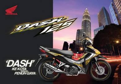 Tahun 2020 HONDA DASH  125(2 DISC) Promosi Hebat!