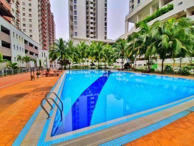 [2 carpark] Kinrara Mas Condo, Bukit Jalil (With terrace Garden)