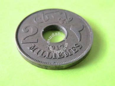 Egypt 2 Milliemes 1917 (EF)