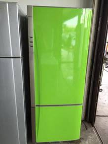 Apple Green Refrigerator Fridge Peti Ais Panasonic