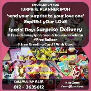 Budget suprise delivery ipoh by emojilunchbox