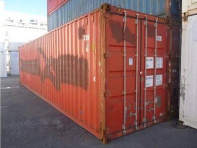 40' HC Container storage