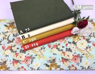 Kain Cotton High Quality & Murah CM4008-10