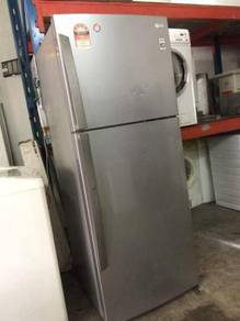 Fridge 2 Pintu LG Ais Refrigerator Freezer Peti