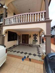 Double Storey Semi D House FOR SALE Taman Bukit Kempas Fully Renovated