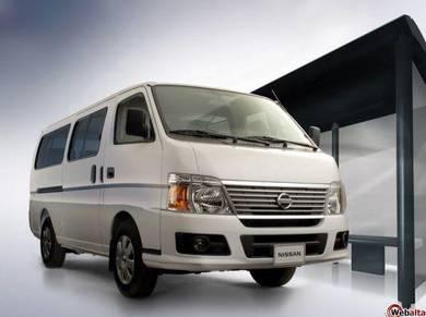 Van Nissan Urvan For Tour