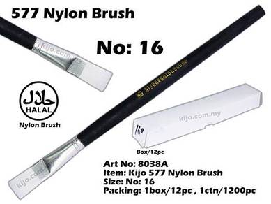 8038A KIJO 577 Nylon Brush No: 16