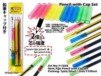 P-1858 Kijo Pencil with Cap Set