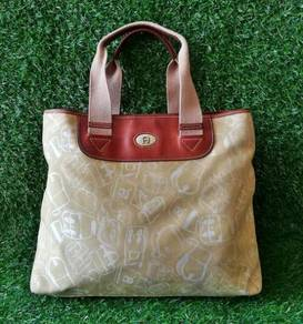 AIGNER tote bag light brown kueii