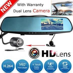 3IN1 FullHD Car Recorder Parking Reverse Camera