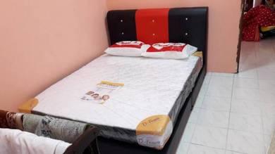 Katil divan queen + tilam harga kilang rm 600