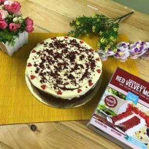 Tepung kek Red velvet Moist 500g