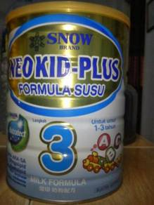 Susu snow neokid plus step 3 biru
