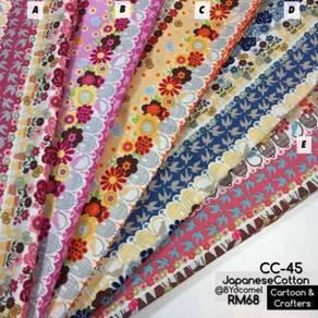 Kain Cotton High Quality & Murah CC-45