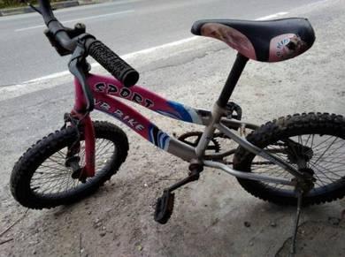 Basikal budak saiz 16