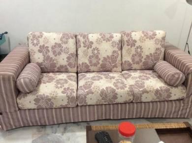 Pre-loved fella design 3 + 2 seater sofa