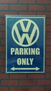 A144S Tin sign Volkswagen