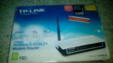 54Mbps wireless G ADSL2+ ModemRouter
