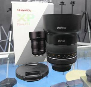 SAMYANG XP 85MM F/1.2L FOR CANON - LiKE NEW