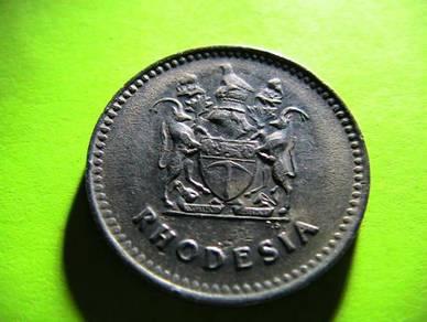 Rhodesia 10 Cents 1975