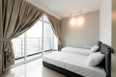 Puncak 7 Residence Seksyen 7 Shah Alam Unisel UITM NEW! 1mnth Dep!