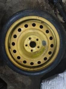 Subaru Spare Tyre Brembo