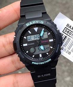 Watch- Casio BABY G GLIDE BAX100-1-ORIGINAL