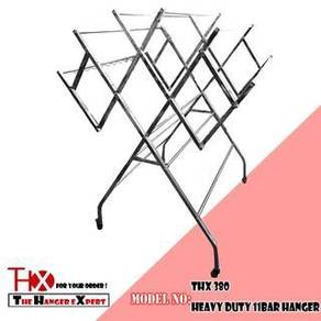Cloth Hanger Mobility W Type Drying Rack