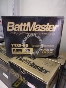 BattMaster Motorcycle and Powersports AGM BATTERY