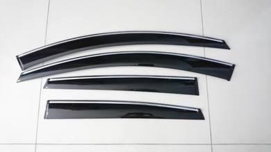 Hyundai sonata elantra tucson chrome door visor
