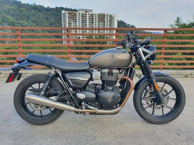 WTS: Triumph Street Twin (2nd Gen)