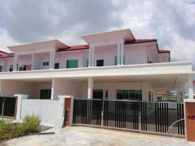 New Double Storey Semi-D Oppisite Airport For Sale,Miri