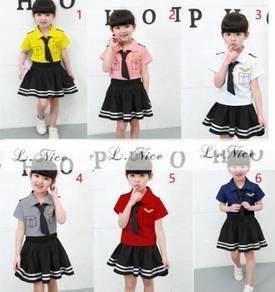 Cute & Elegance Ms Pilot set (Top+Skirt+tie)
