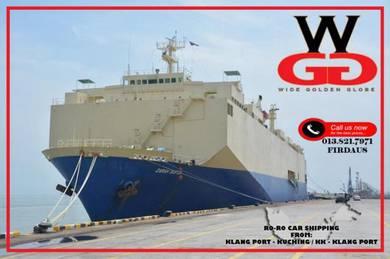 Car shipping from Kuching to Kota Kinabalu