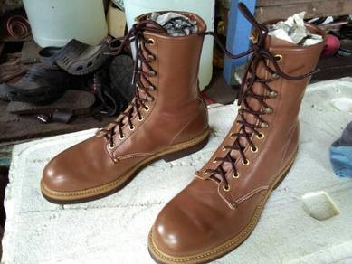 Hi tech brand made in usa safety shoes (waterproof