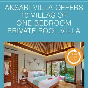 One bedroom villa with pool stay in Bali