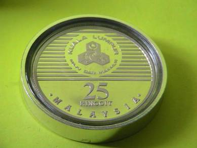Malaysia 25 Ringgit 1990 Kuala Lumpur 100 Year