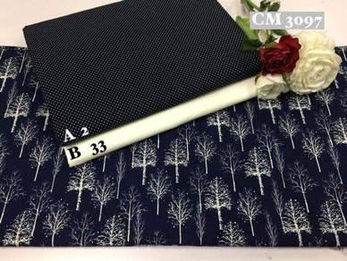 Kain Cotton High Quality & Murah CM3097
